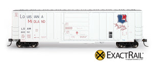 Evans-USRE 5277 Boxcar (Early) : LOAM - ExactRail Model Trains - 2