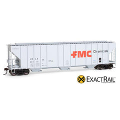 HO Scale: X - Evans 4780 Covered Hopper - FMC