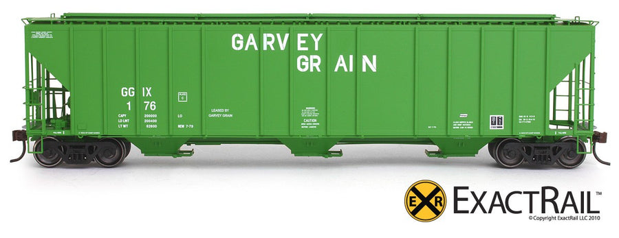 HO Scale: Evans 4780 Covered Hopper - GGIX