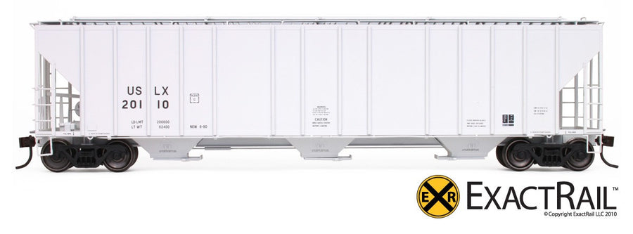 HO Scale: Evans 4780 Covered Hopper - USLX