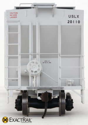 Evans 4780 Covered Hopper : USLX - ExactRail Model Trains - 3