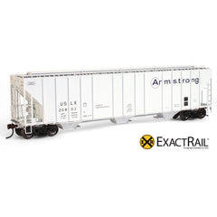 HO Scale: Evans 4780 Covered Hopper - Armstrong/USLX