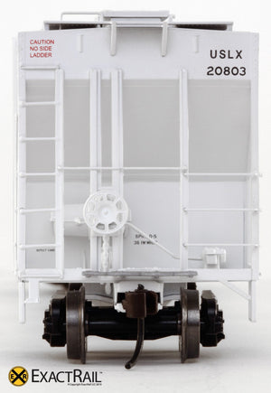Evans 4780 Covered Hopper : Armstrong/USLX - ExactRail Model Trains - 3