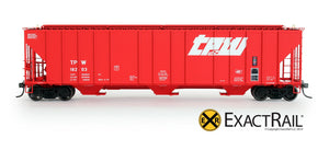 Evans 4780 Covered Hopper : TPW - ExactRail Model Trains - 2