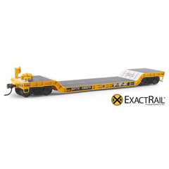 HO Scale: X - 48' Depressed Center Flat Car - QTTX