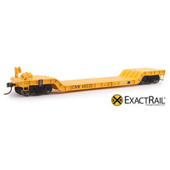HO Scale: X - 48' Depressed Center Flat Car - CNW