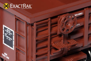 Thrall 2244 15-Panel Gondola - Heavy Top Chord : RI - ExactRail Model Trains - 3