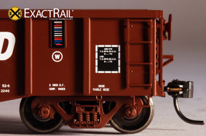 Thrall 2244 15-Panel Gondola - Heavy Top Chord : RI - ExactRail Model Trains - 6