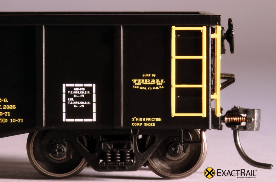 HO Scale: Thrall 2244 15-Panel Gondola - Heavy Top Chord - DT&I