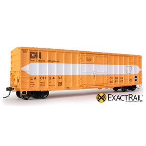 HO Scale: FMC 5327 12'-0 Plug Door Boxcar - East Camden and Highland