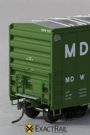 FMC 5327 12'-0 Plug Door Boxcar : MDW - ExactRail Model Trains - 3