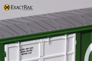 FMC 5327 12'-0 Plug Door Boxcar : MDW - ExactRail Model Trains - 4