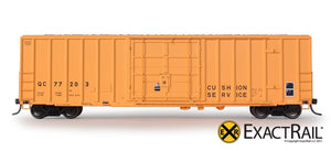 FMC 5327 12'-0 Plug Door Boxcar : QC : 77203 - ExactRail Model Trains - 2