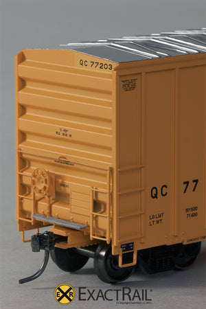 FMC 5327 12'-0 Plug Door Boxcar : QC : 77203 - ExactRail Model Trains - 3