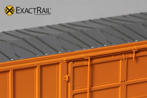 FMC 5327 12'-0 Plug Door Boxcar : QC : 77203 - ExactRail Model Trains - 4