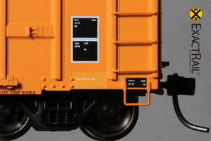 FMC 5327 12'-0 Plug Door Boxcar : QC : 77203 - ExactRail Model Trains - 5