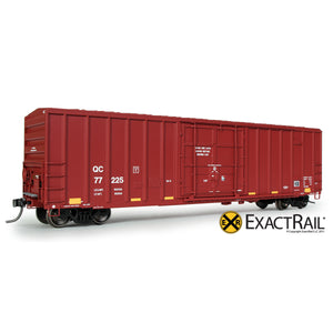 HO Scale: FMC 5327 12'-0 Plug Door Boxcar - QC - 77225