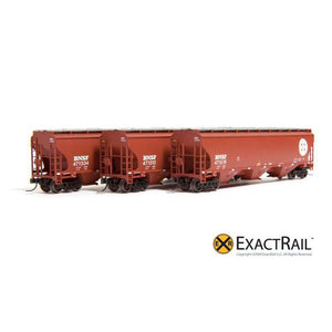 N Scale: Trinity 5161 (3-Pack) - BNSF (Original)