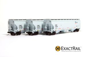 X - N - Trinity 5161 (3-Pack) : DME - ExactRail Model Trains
