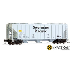 N Scale: PS-2CD 4000 Covered Hopper - SP