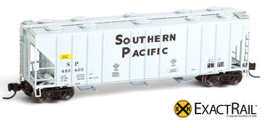 X - N - PS-2CD 4000 Covered Hopper : SP - ExactRail Model Trains - 2