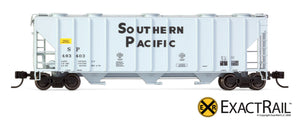 X - N - PS-2CD 4000 Covered Hopper : SP - ExactRail Model Trains - 5