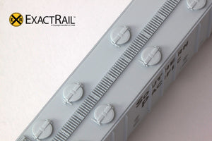 X - N - PS-2CD 4000 Covered Hopper : SP - ExactRail Model Trains - 6