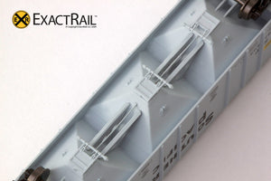 X - N - PS-2CD 4000 Covered Hopper : SP - ExactRail Model Trains - 7