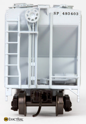 X - N - PS-2CD 4000 Covered Hopper : SP - ExactRail Model Trains - 8