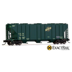 HO Scale: X - N - PS-2CD 4000 Covered Hopper - CGW