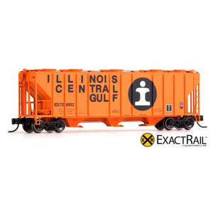 N Scale: PS-2CD 4000 Covered Hopper - ICG