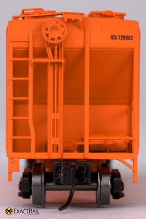 X - N - PS-2CD 4000 Covered Hopper : ICG - ExactRail Model Trains - 3