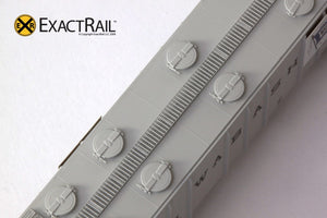 N - PS-2CD 4000 Covered Hopper : Wabash - ExactRail Model Trains - 3