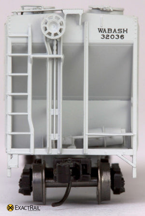 N - PS-2CD 4000 Covered Hopper : Wabash - ExactRail Model Trains - 6
