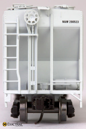 N - PS-2CD 4000 Covered Hopper : Norfolk & Western - ExactRail Model Trains - 5
