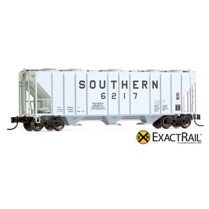 N Scale: PS-2CD 4000 Covered Hopper - SOU