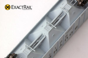 X - N - PS-2CD 4000 Covered Hopper : SOU - ExactRail Model Trains - 6