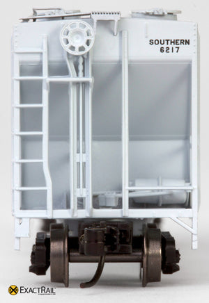 X - N - PS-2CD 4000 Covered Hopper : SOU - ExactRail Model Trains - 7