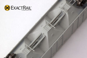 X - N - PS-2CD 4000 Covered Hopper : NP - ExactRail Model Trains - 5