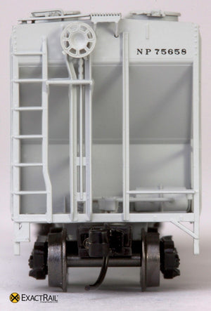 X - N - PS-2CD 4000 Covered Hopper : NP - ExactRail Model Trains - 3