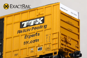 N - Trinity 6275 Plug Door Boxcar :  FBOX 2004 'As Delivered' - ExactRail Model Trains - 3