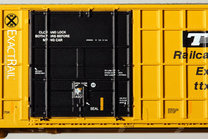 N - Trinity 6275 Plug Door Boxcar :  FBOX 2004 'As Delivered' - ExactRail Model Trains - 4
