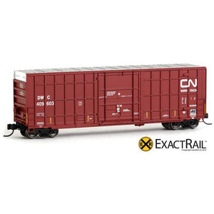 N Scale: Trinity 50' Hy-Cube Box Car - DWC