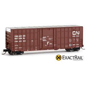 N Scale: Trinity 50' Hy-Cube Box Car - CN