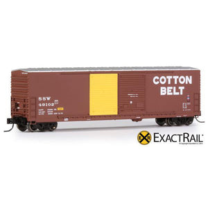 HO Scale: Gunderson 5200 Box Car - SSW