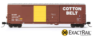 X - Gunderson 5200 Box Car : SSW - ExactRail Model Trains - 2