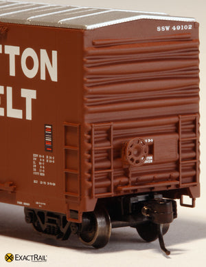 X - Gunderson 5200 Box Car : SSW - ExactRail Model Trains - 5