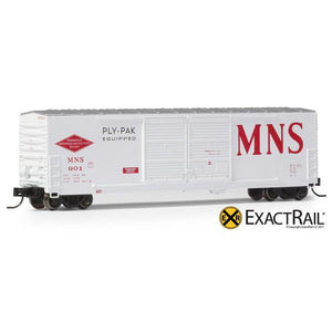 N Scale: Gunderson 5200 Box Car - MNS