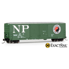 N Scale: Gunderson 5200 Box Car - NP