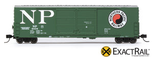 X - Gunderson 5200 Box Car : NP - ExactRail Model Trains - 4